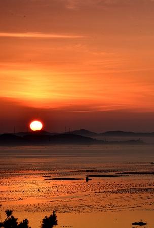 哈仙岛日出观景台