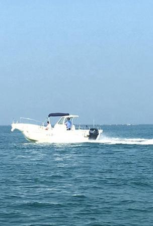 哈仙岛快艇钓鱼